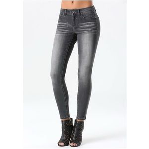 BeBe Hourglass Grey Skinny Jean